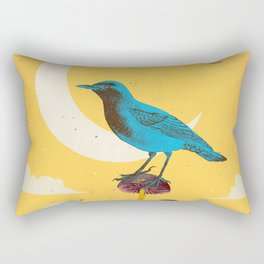 CITY BIRD Rectangular Pillow