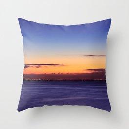 Twilight to Sunrise Throw Pillow