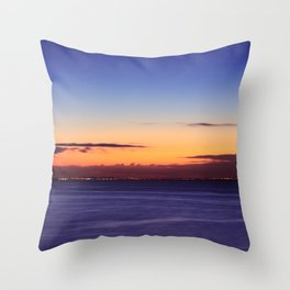 Twilight to Sunrise Throw Pillow