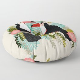 Toucans by Andrea Lauren  Floor Pillow