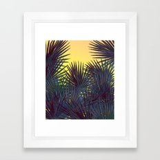 Warm In the Jungle Framed Art Print
