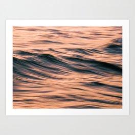 The Sea XXX Colour Hi-Res Abstract Photography Art Print