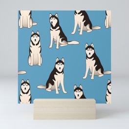 Husky Dogs Mini Art Print