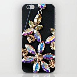 Diamond Flowers iPhone Skin