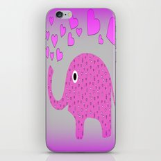 In Love With Elephants iPhone & iPod Skin