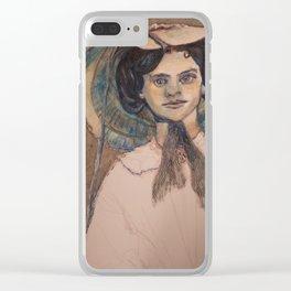 Sunbonnet Sisters Clear iPhone Case