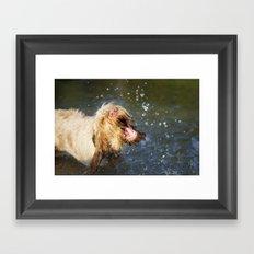 Make a BIG Splash Framed Art Print