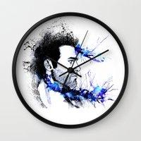 derek hale Wall Clocks featuring Derek Hale by Sterekism