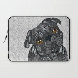 Black Pug 2016 Laptop Sleeve