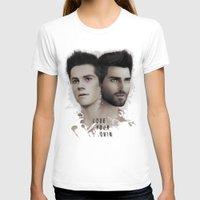 derek hale T-shirts featuring LoseYourMind - Stiles Stilinski / Derek Hale ( Sterek - Teen Wolf ) by Caim Thomas