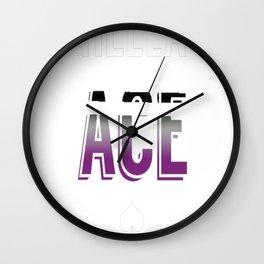 Hella Ace Pride Wall Clock
