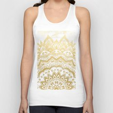 GOLD ORION JEWEL MANDALA Unisex Tank Top