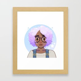 Simone Framed Art Print