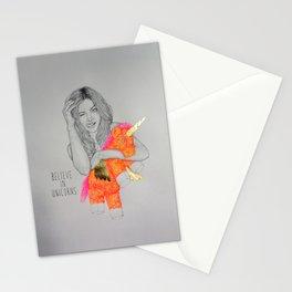 BELIEVE IN UNICORNS Stationery Cards