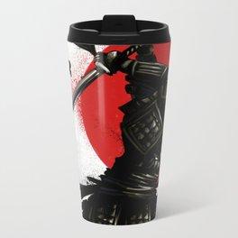 Samurai Invader Metal Travel Mug