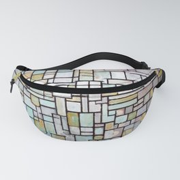 Piet Mondrian Composition No. II Fanny Pack