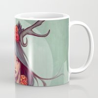 into the wild Mugs featuring Wild by Joifish