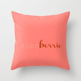 kkbp3 Throw Pillow
