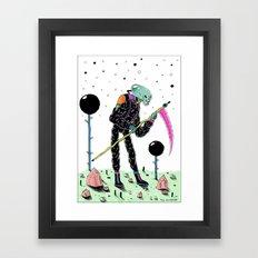 Annunaki Boi Framed Art Print