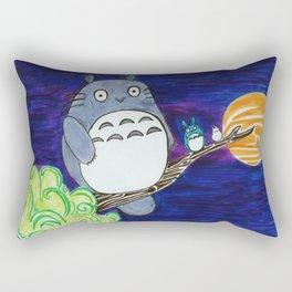 Midnight Totoro Rectangular Pillow