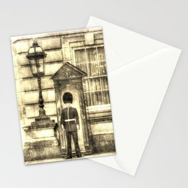 Buckingham Palace Queens Guard Vintage Stationery Cards