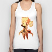 naruto Tank Tops featuring Naruto  by WTFmoments