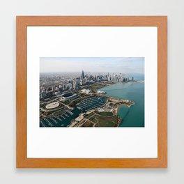 Chicago Aerial   Framed Art Print