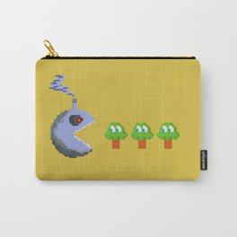 March of Progress | videogame #tribute | #pixelart Carry-All Pouch