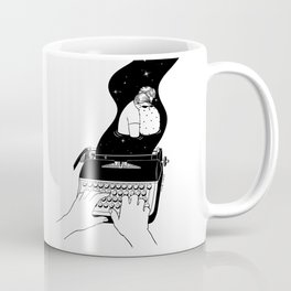 Milky Way Poetry Coffee Mug