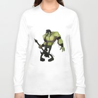 misfits Long Sleeve T-shirts featuring Misfits by Roe Mesquita