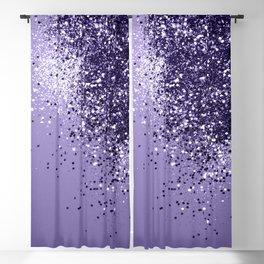ULTRA VIOLET Glitter Dream #1 #shiny #decor #art #society6 Blackout Curtain