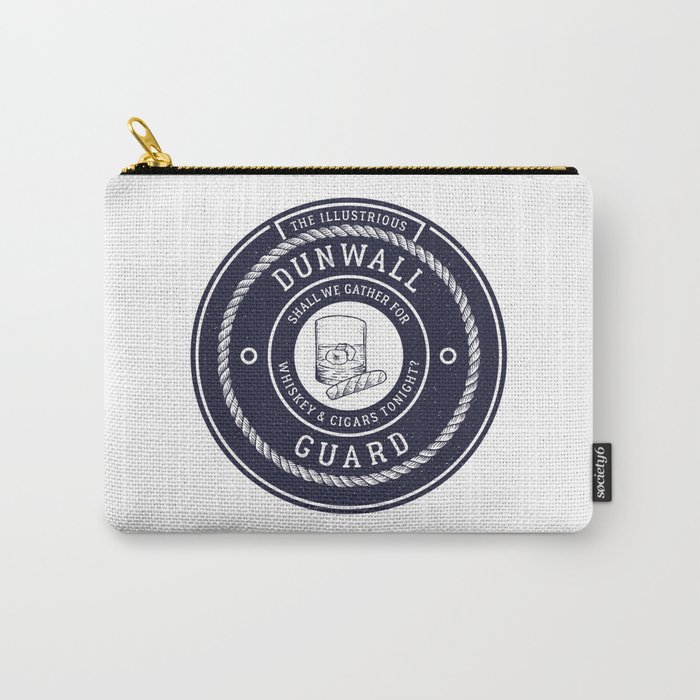 Whiskey & Cigars (Navy) Carry-All Pouch