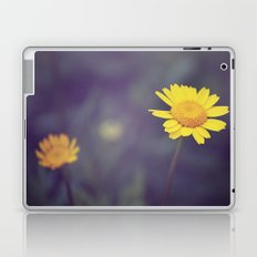 Miss Yellow Daisy Laptop & iPad Skin