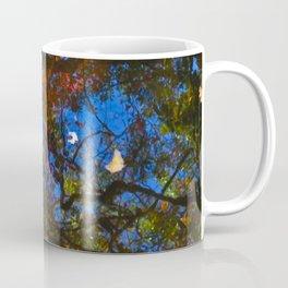 Rippled Water and Leaves 2 Coffee Mug