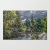 poland Canvas Prints featuring Hortulus-Poland HDR by helsch photography