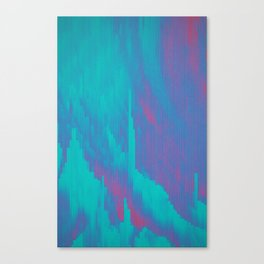 Glitched v.7 Canvas Print