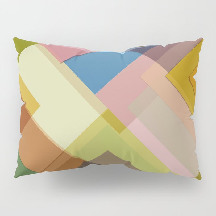 Abstract Composition 634 Pillow Sham