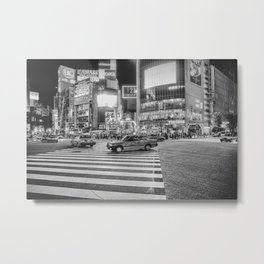Shibuya Crossing Metal Print