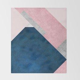 Modern Mountain No2-P1 Throw Blanket