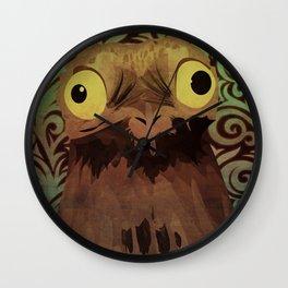 Potoo Wall Clock