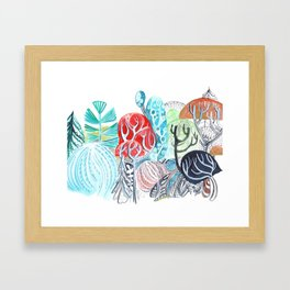 A Study in Nature Framed Art Print