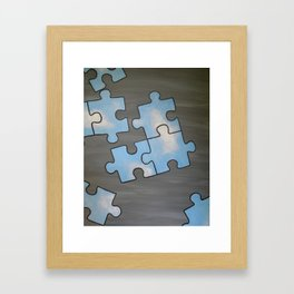 Pieces of Sky Framed Art Print