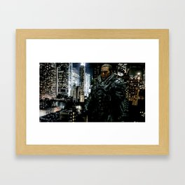THE GENERAL Framed Art Print