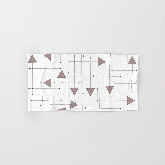 Lines & Arrows Hand & Bath Towel