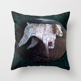A Loyal Friend Throw Pillow