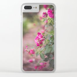 Down the Garden Path Clear iPhone Case