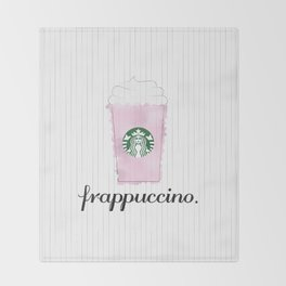Frappuccino Throw Blanket