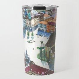 Unirii square Travel Mug