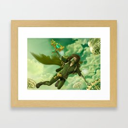Steampunk Framed Art Print