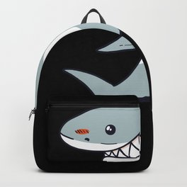 Big Shark Cool Shark Lover Backpack